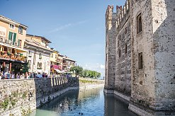 An der Skaligerburg in Sirmione