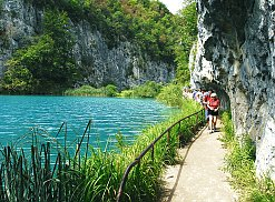Rundgang im Nationalpark Plitvice - Plitvicer Seen