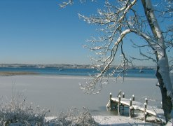 Winterstimmung am Starnberger See